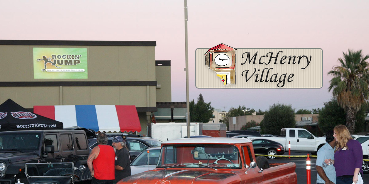 McHenry Village website tile